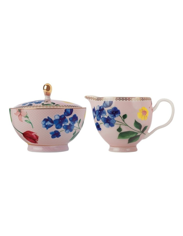 Teas & C's Contessa Sugar & Creamer Set Rose Gift Boxed image 1