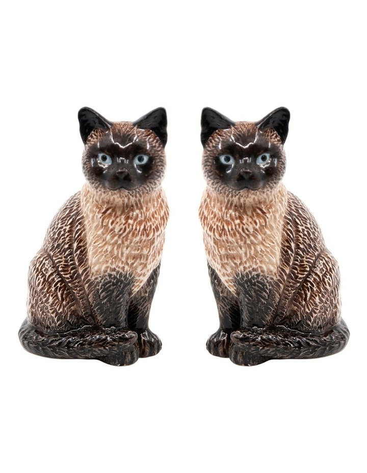 Animalia Shaker Set Of 2 Siamese Cat image 1