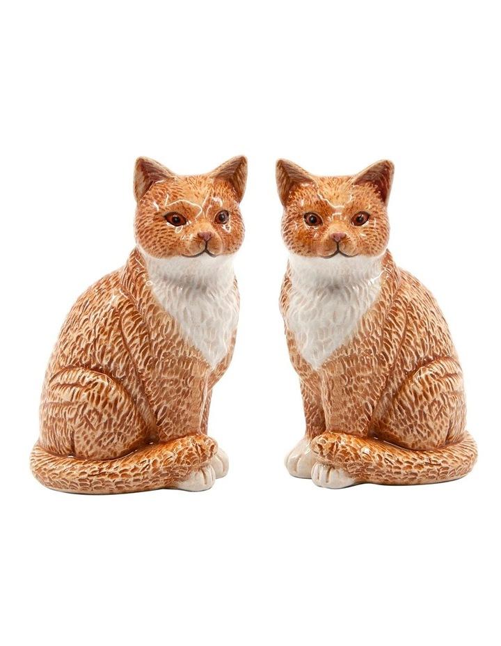 Animalia Shaker Set Of 2 Ginger Cat image 1