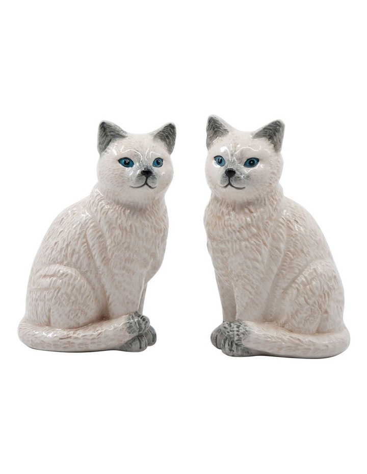 Animalia Shaker Set Of 2 Ragdoll Cat image 1