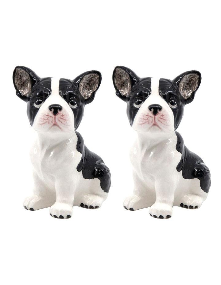 Animalia Shaker Set Of 2 French Bulldog image 1