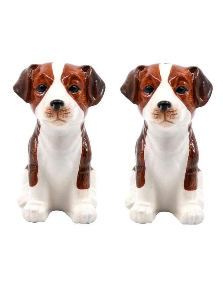 Animalia Shaker Set Of 2 Beagle Dog image 1