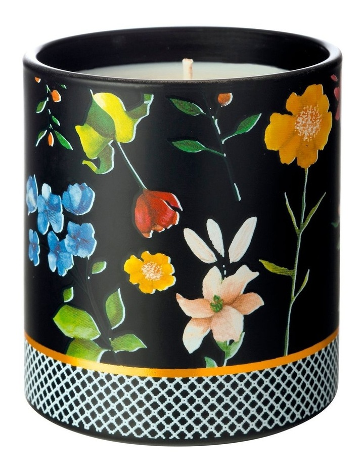 Teas & C's Contessa Scented Candle 240gm Black Gift Boxed image 1