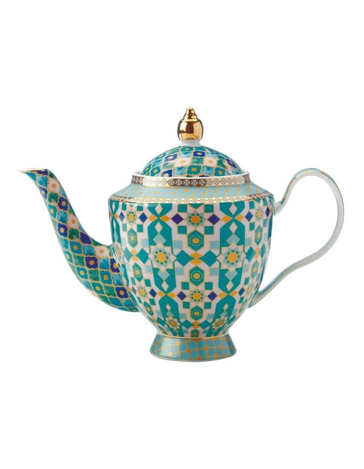 Teas & C's Kasbah Teapot with Infuser 500ML Mint Gift Boxed image 1