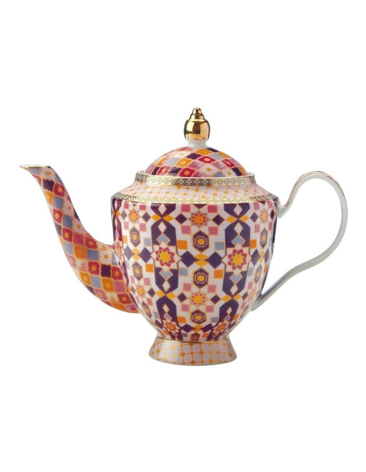Teas & C's Kasbah Teapot with Infuser 500ML Rose Gift Boxed image 1