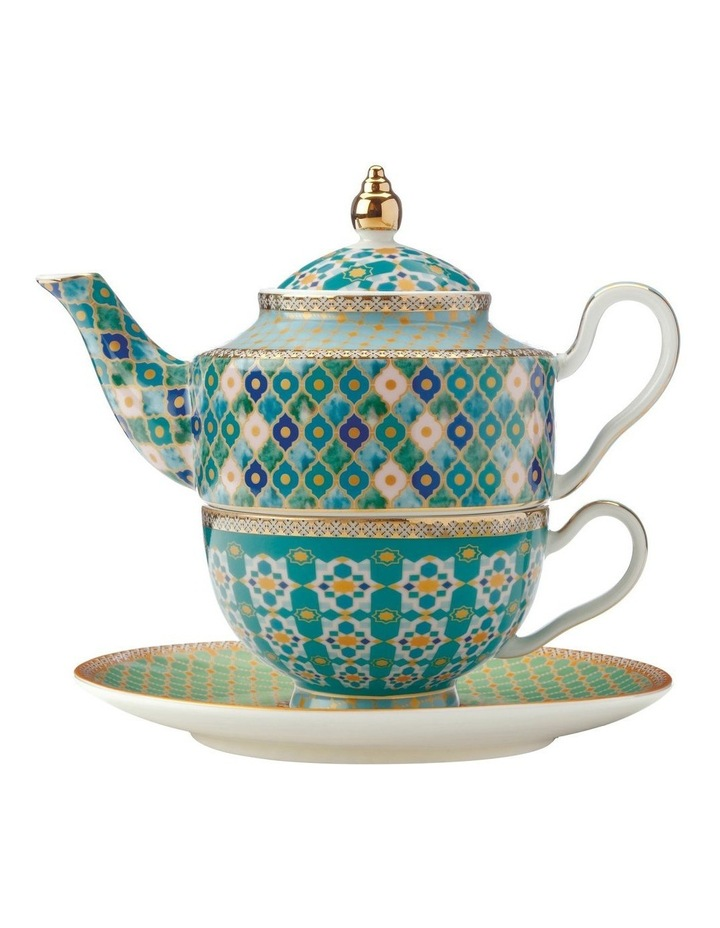 Teas & C's Kasbah Tea For 1 with Infuser 380ML Mint Gift Boxed image 1