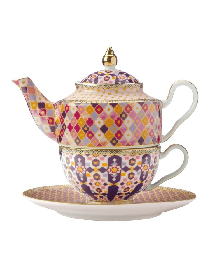 Teas & C's Kasbah Tea For 1 with Infuser 380ML Rose Gift Boxed image 1