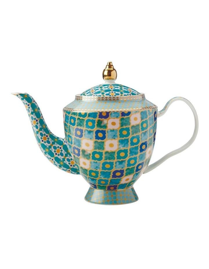 Teas & C's Kasbah Teapot with Infuser 1L Mint Gift Boxed image 1