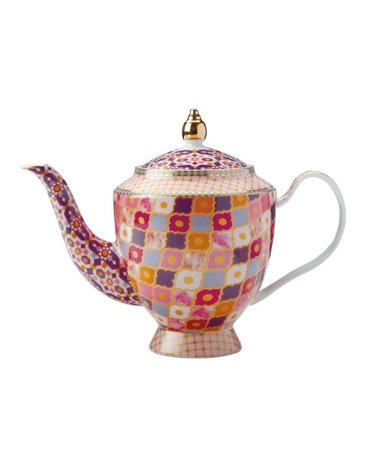 Teas & C's Kasbah Teapot with Infuser 1L Rose Gift Boxed image 1