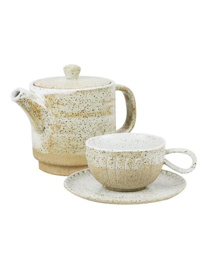 Ceylon Teapot & Cup Set image 1