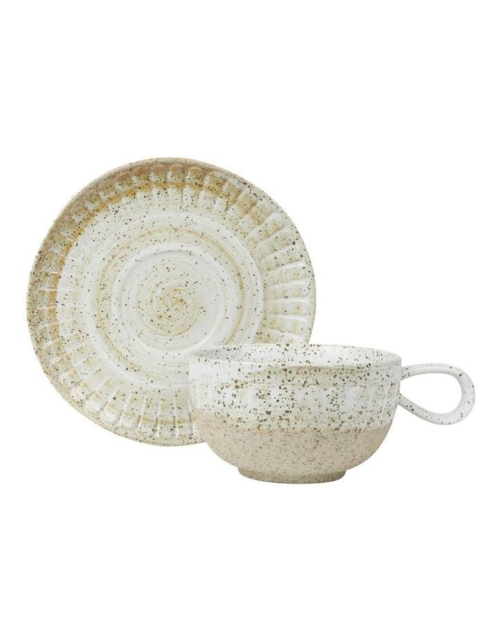Ceylon Teapot, Cup & Tray Set image 3