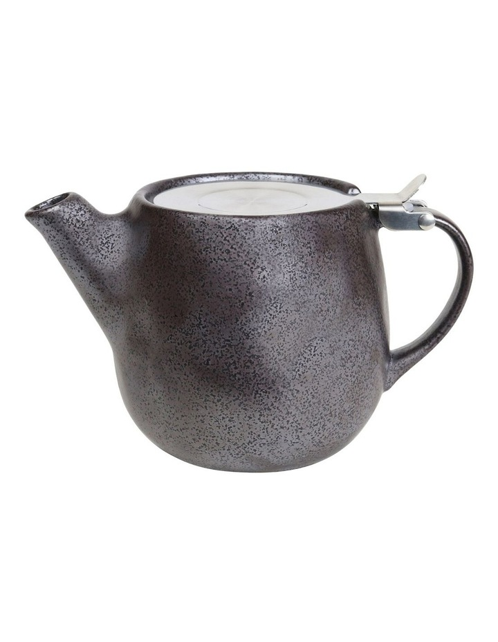 Earth Black Teapot & Set-2 Latte Cups image 2