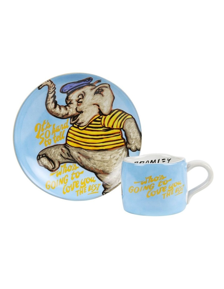 Bromley Childrens Set (Plate & Cup) - Elephant 02 image 1