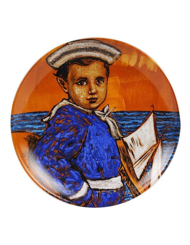 Bromley Hanging Plate Sets 4 x 19cm - Children 4 Elephant Portrait Portrait image 2