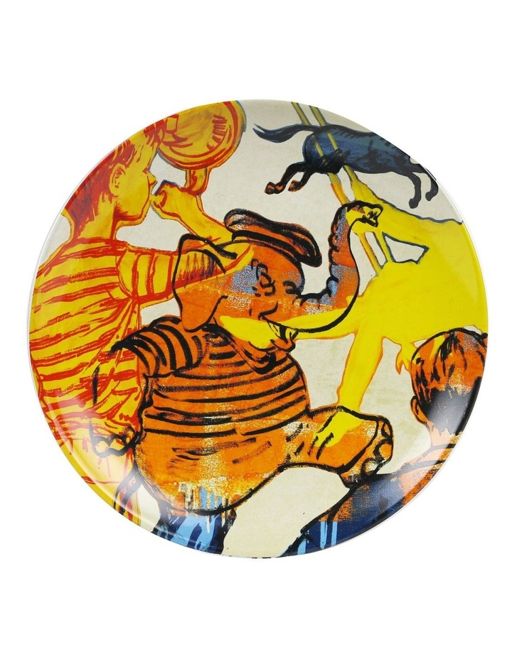 Bromley Hanging Plate Sets 4 x 19cm - Children 4 Elephant Portrait Portrait image 4