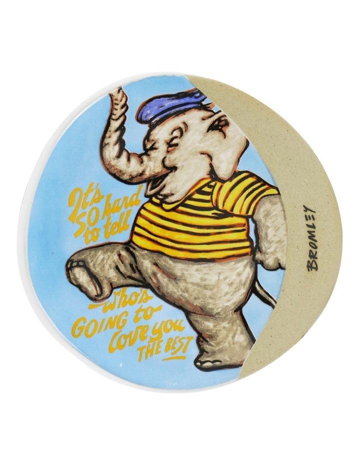 Bromley Round Coaster - Elephant image 1