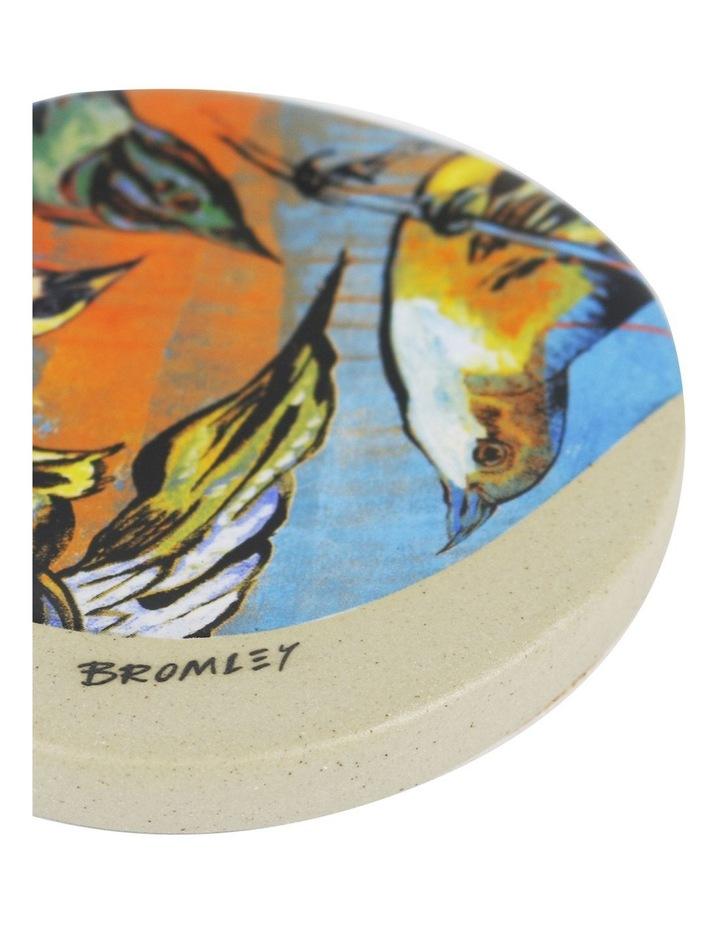 Bromley Round Coaster - 5 x Birds image 2