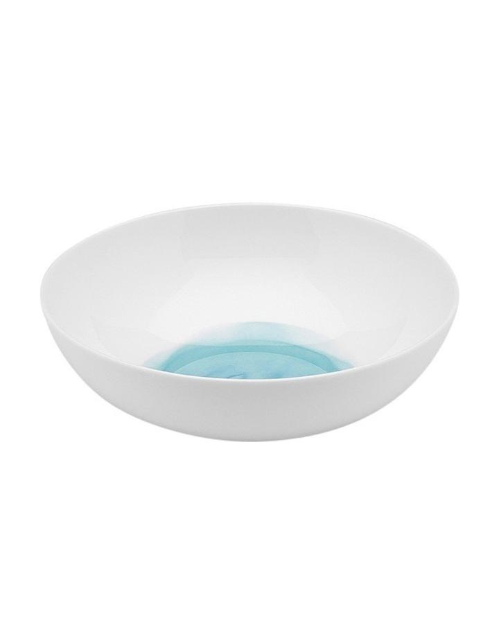 Watercolour Cereal Bowl 18cm - Aqua image 1