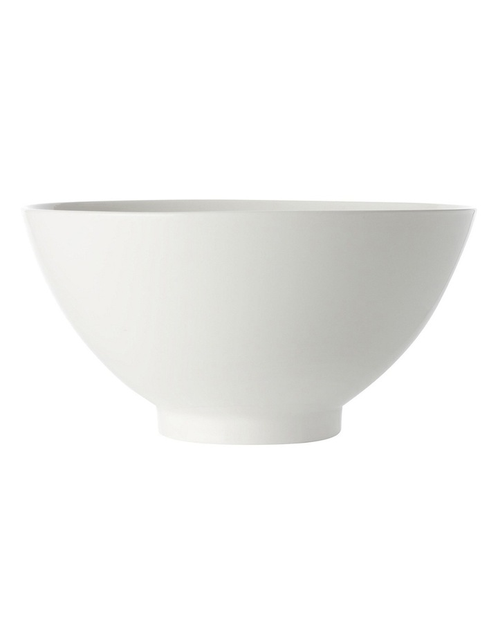 White Basics Noodle Bowl  18cm image 1