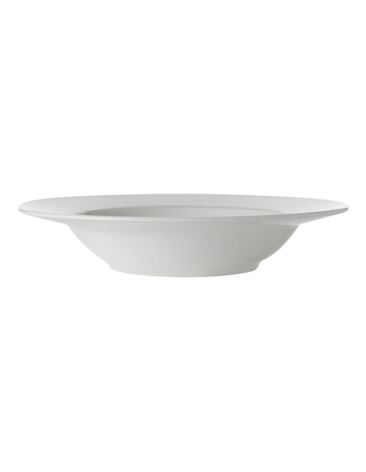 White Basics Rim Soup Bowl 23cm image 1