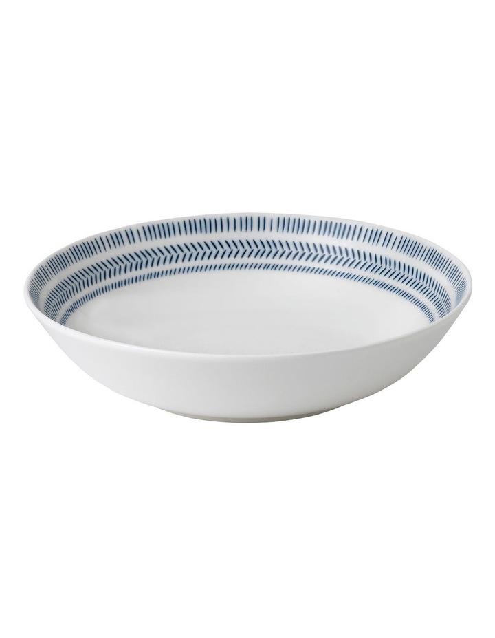 Chevron Pasta Bowl 24cm image 1