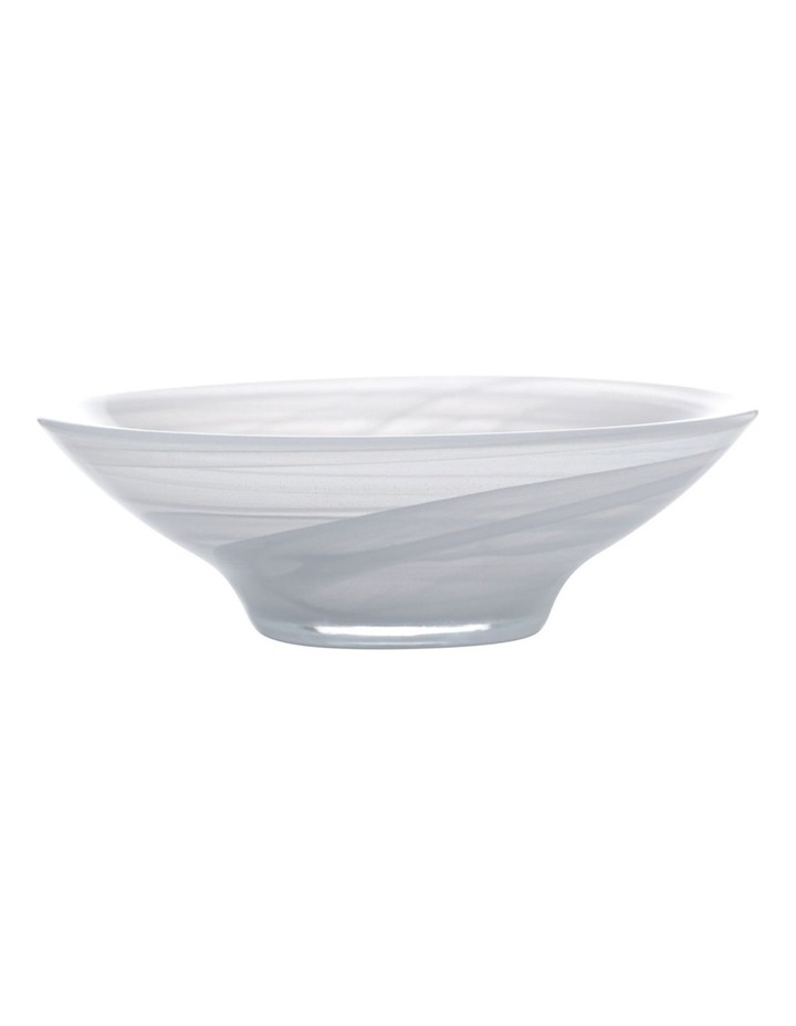 Marblesque Bowl 13cm White image 1