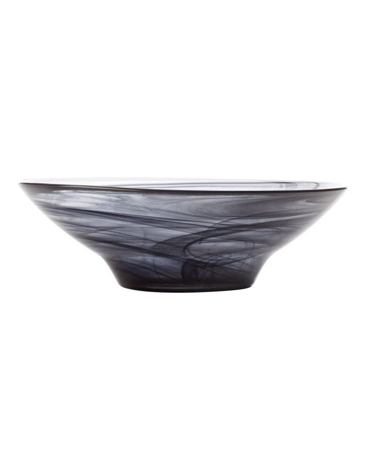 Marblesque Bowl 19cm Black image 1