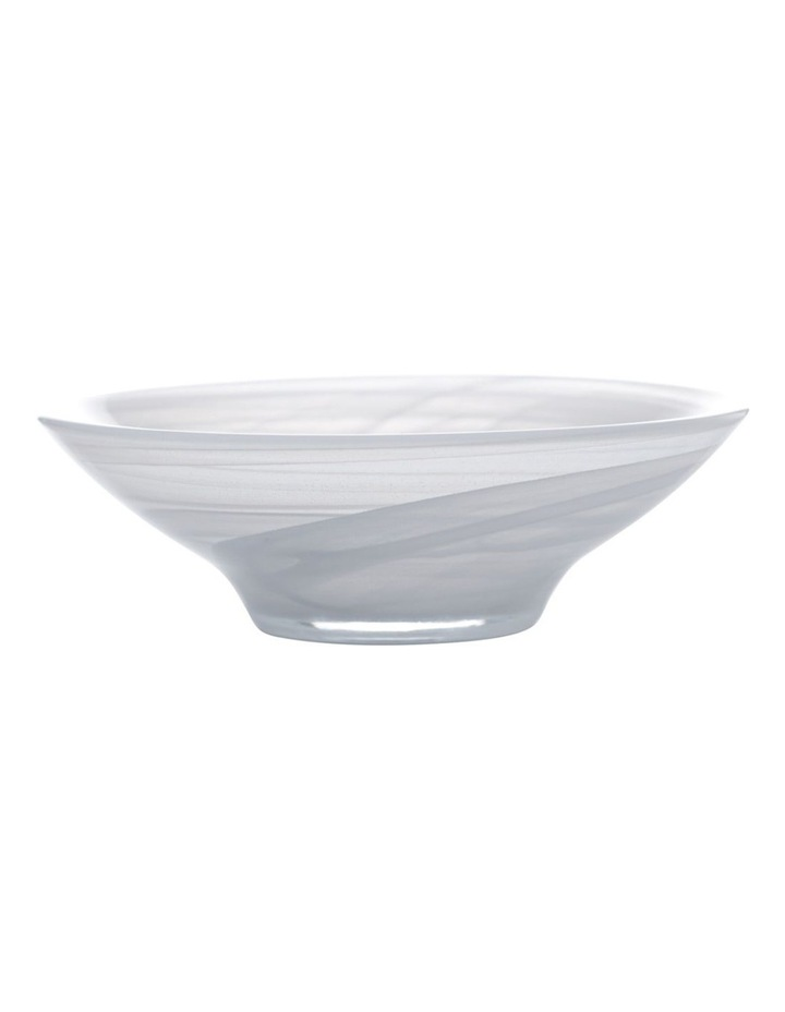 Marblesque Bowl 19cm White image 1
