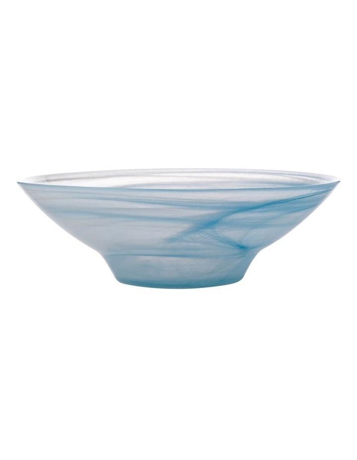 Marblesque Bowl 26cm Blue image 1