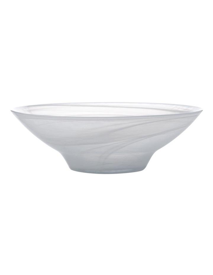 Marblesque Bowl 26cm White image 1