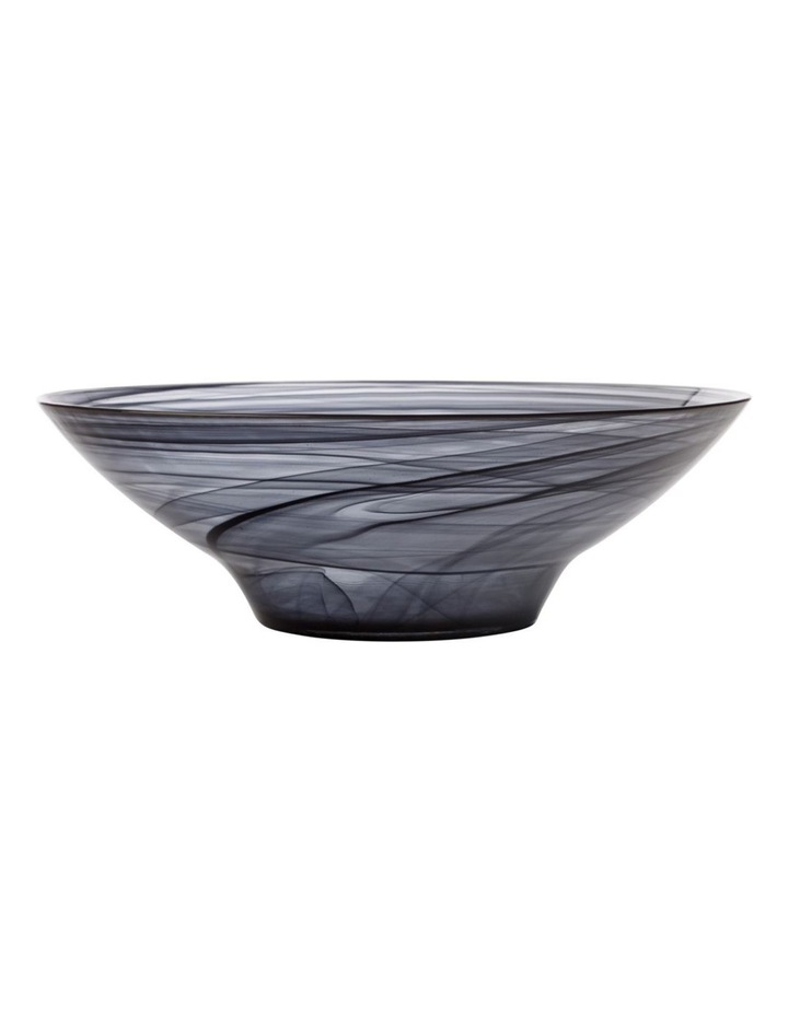 Marblesque Bowl 32cm Black image 1