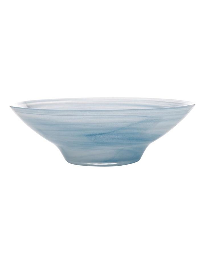 Marblesque Bowl 32cm Blue image 1