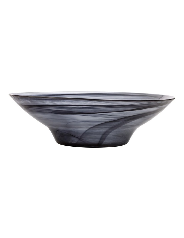 Marblesque Bowl 37cm Black image 1