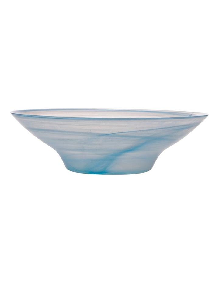 Marblesque Bowl 37cm Blue image 1