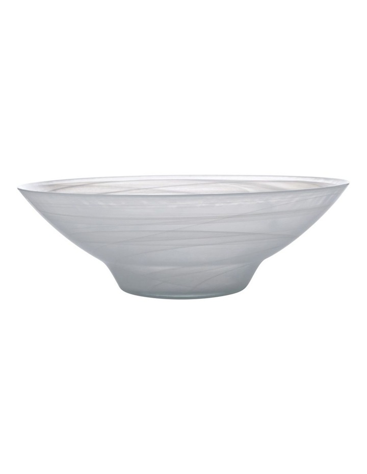 Marblesque Bowl 37cm White image 1