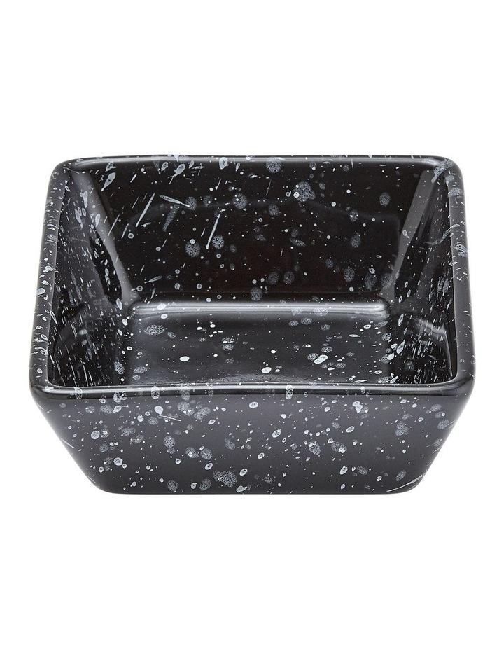 Terrazzo Black Square Bowl image 1