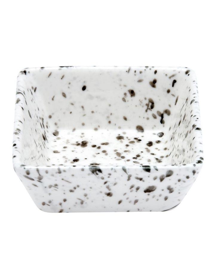 Terrazzo White Square Bowl image 1