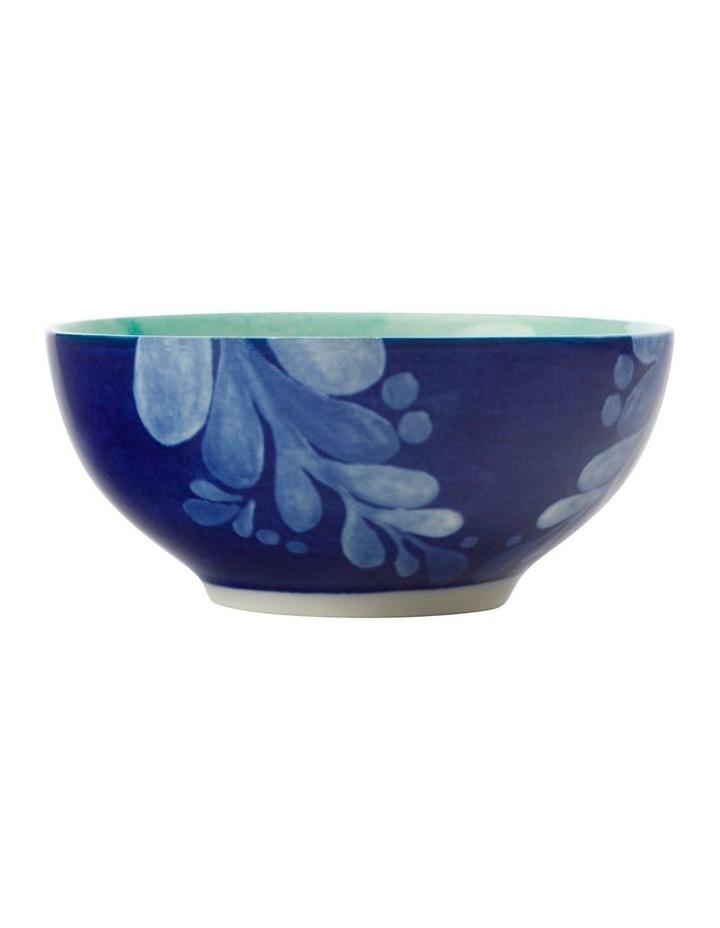 Majolica Bowl 10cm Teal image 1