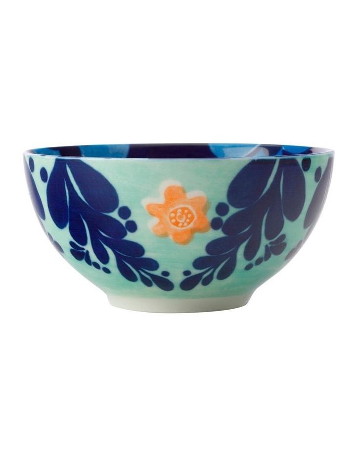 Majolica Bowl 12.5cm Ink Blue image 1