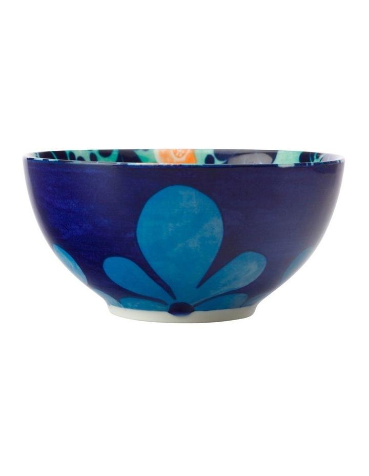 Majolica Bowl 12.5cm Teal image 1