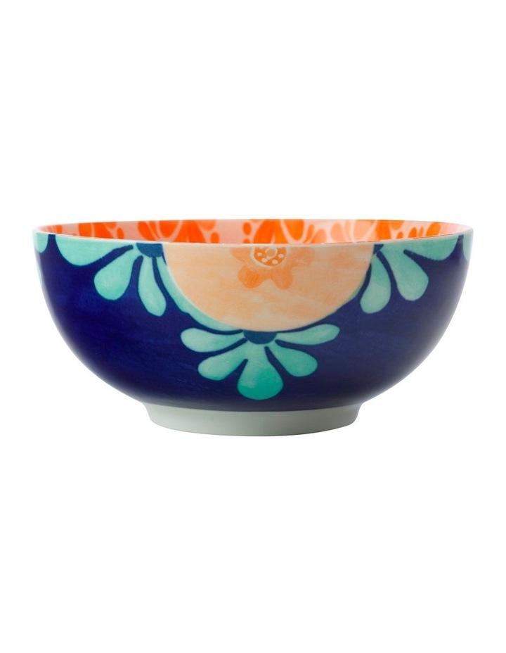 Majolica Bowl 16cm Peach image 1