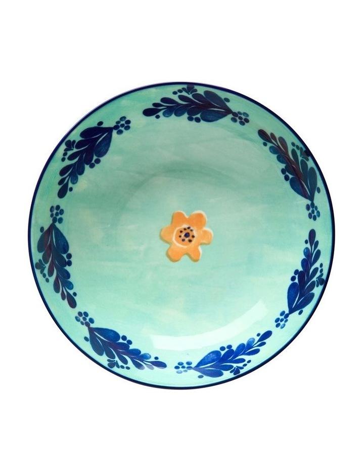 Majolica Coupe Bowl 20cm Teal image 2