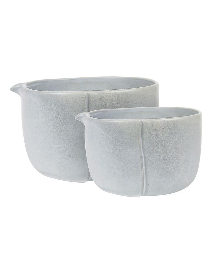 Feast Mixing Bowls Set Of 2 Concrete 3.5L & 1.5L image 1