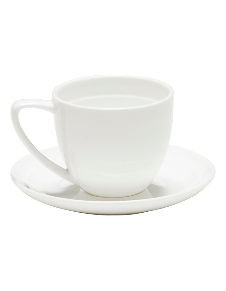 Edge Espresso Cup And Saucer - 100Ml image 2