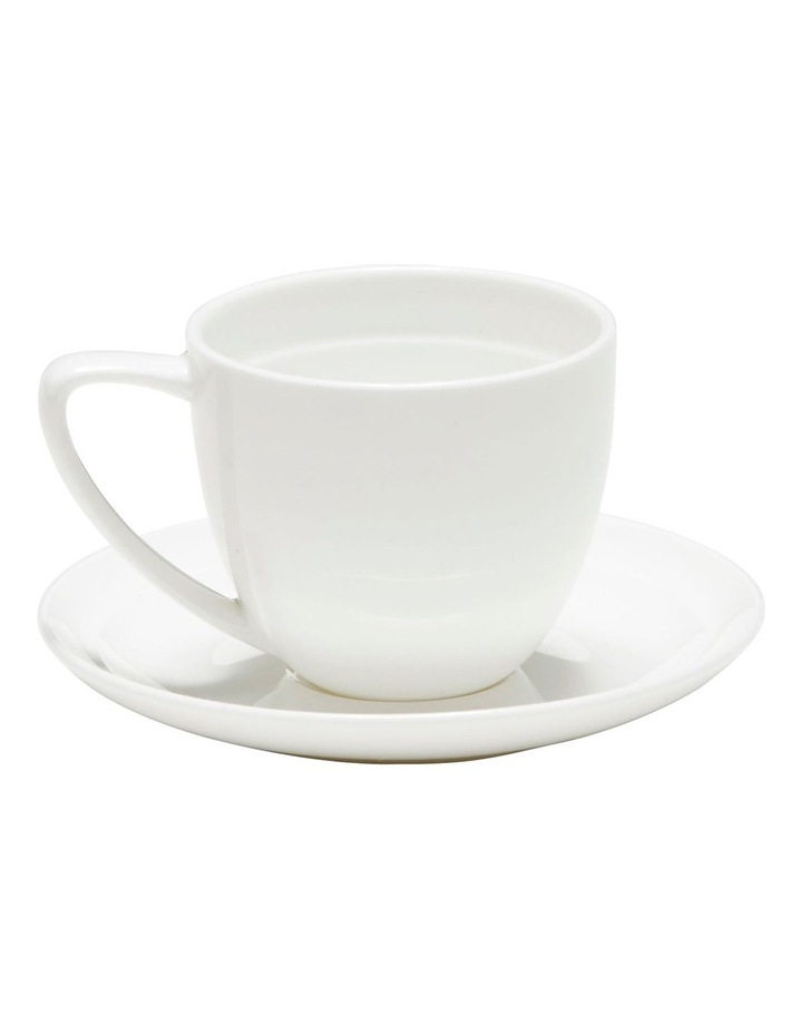 Edge Espresso Cup And Saucer - 100Ml image 1