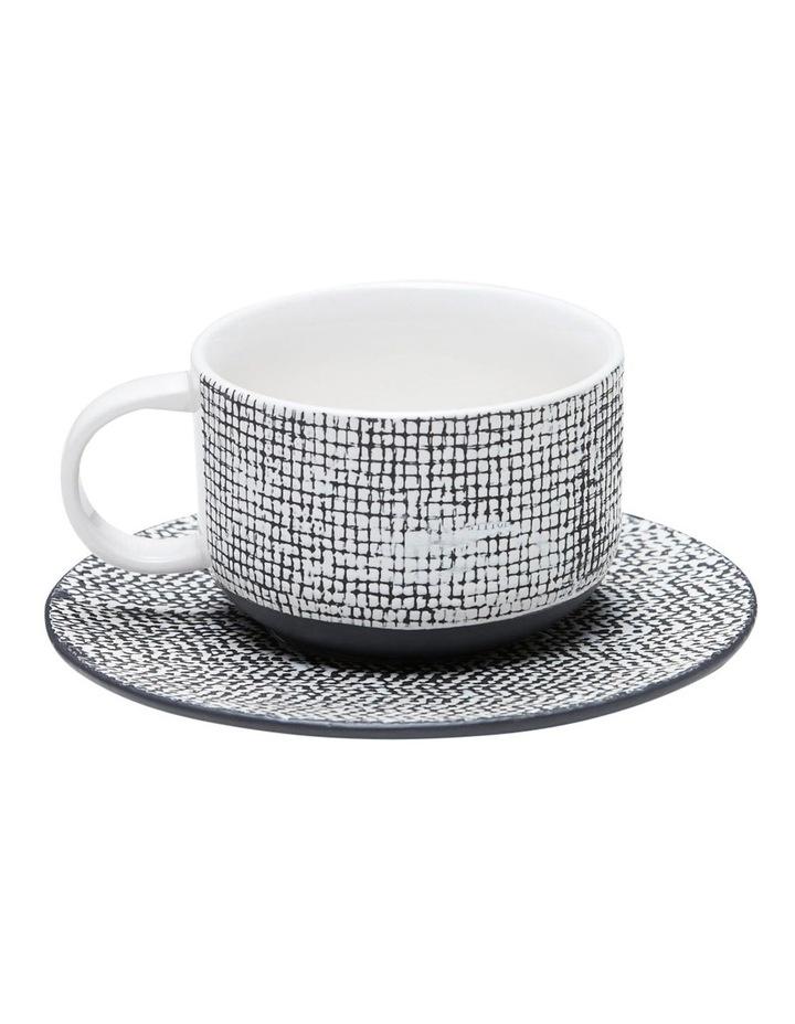 Raww Tea And Saucer - Black image 1