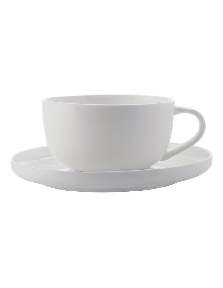 High Rim Demi Cup & Saucer 100ML image 1