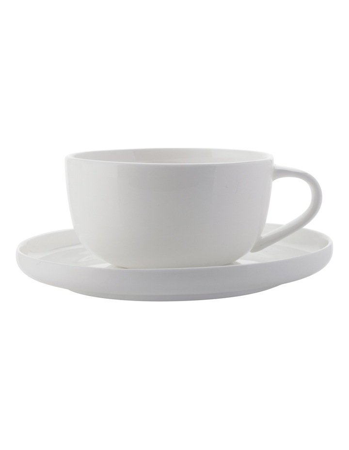 High Rim Demi Cup & Saucer 100ML image 1