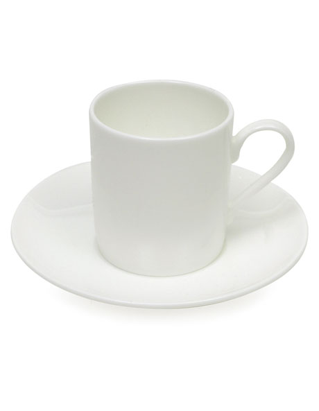 Cashmere Straight Demi Cup & Saucer 100ml image 1