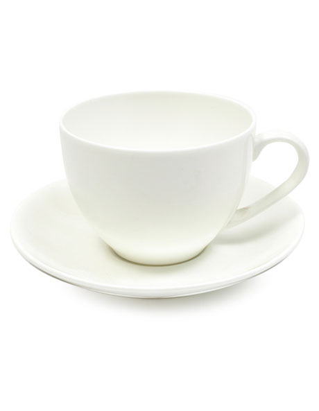 Cashmere Tea Cup & Saucer  230ml image 1